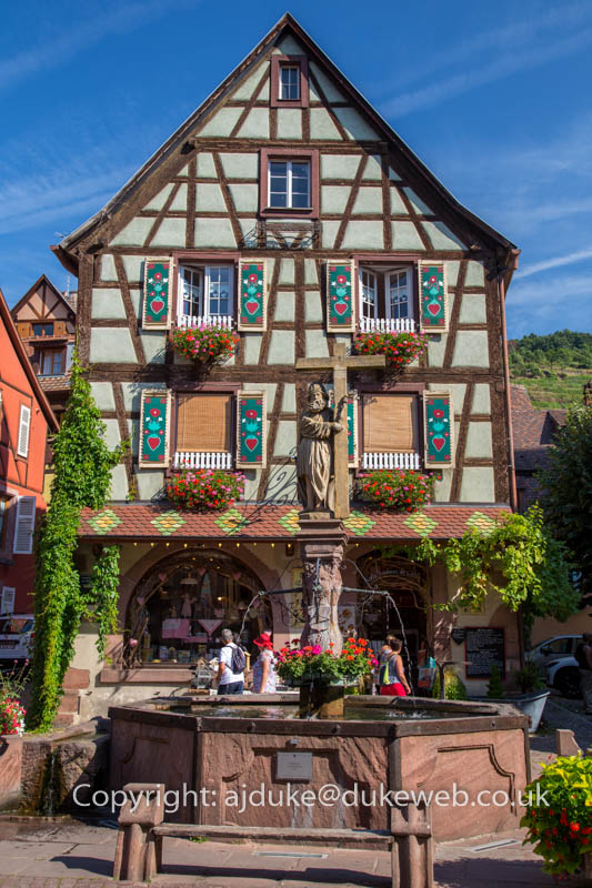 Kayserberg wine route town, Alsace, France