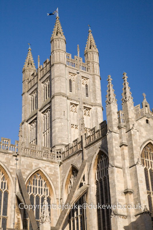 Bath Abbey, Bath, Somerset