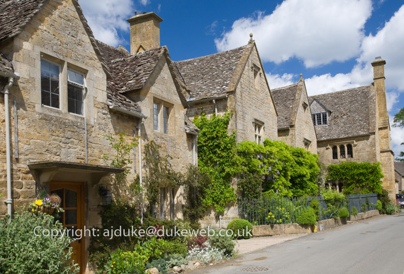 Stanton village, near Broadway, Cotswolds, Gloucestershire
