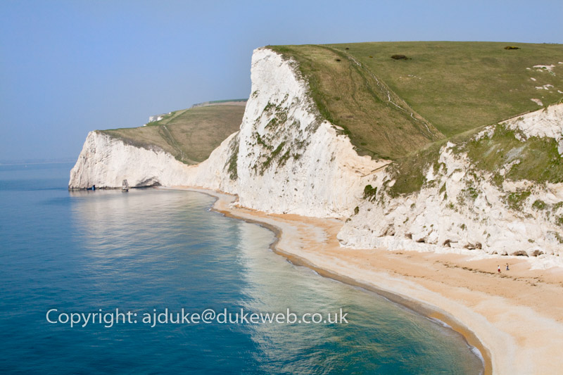 Durdle Door beach, Jurassic Coast World Heritage Site, Dorset, England, UK