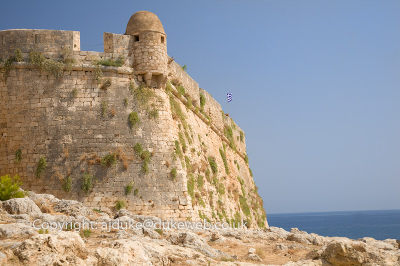 Rethymno Fort, Crete, Greece