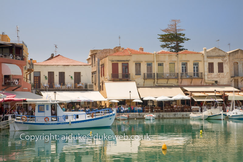 Venetian Harbour, Rethymno, Crete, Greece