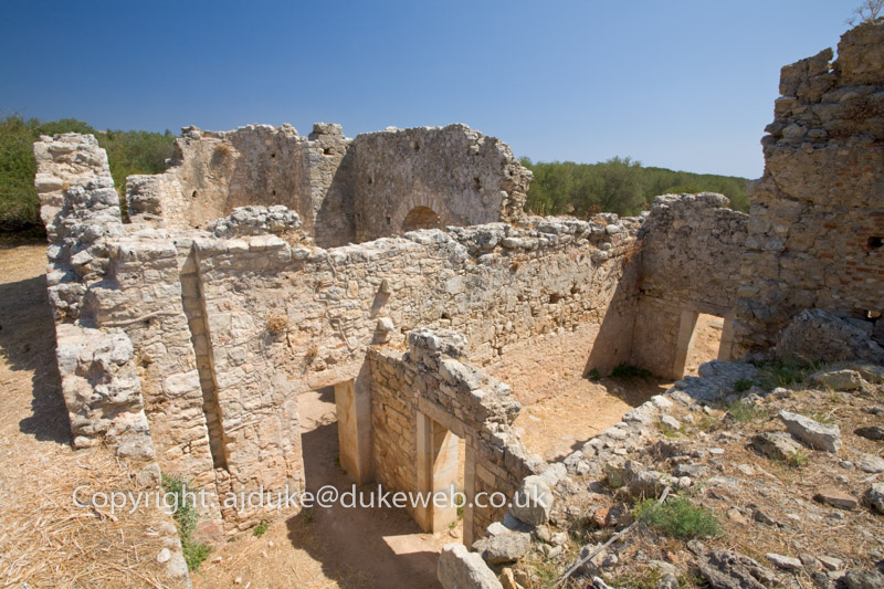 Aptera ancient ruins, Crete, Greece