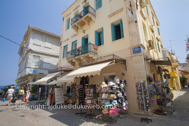 tourist shops, Chania, Crete, Greece
